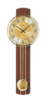 Ceas cu pendula AMS 7115/1, 60x22 cm