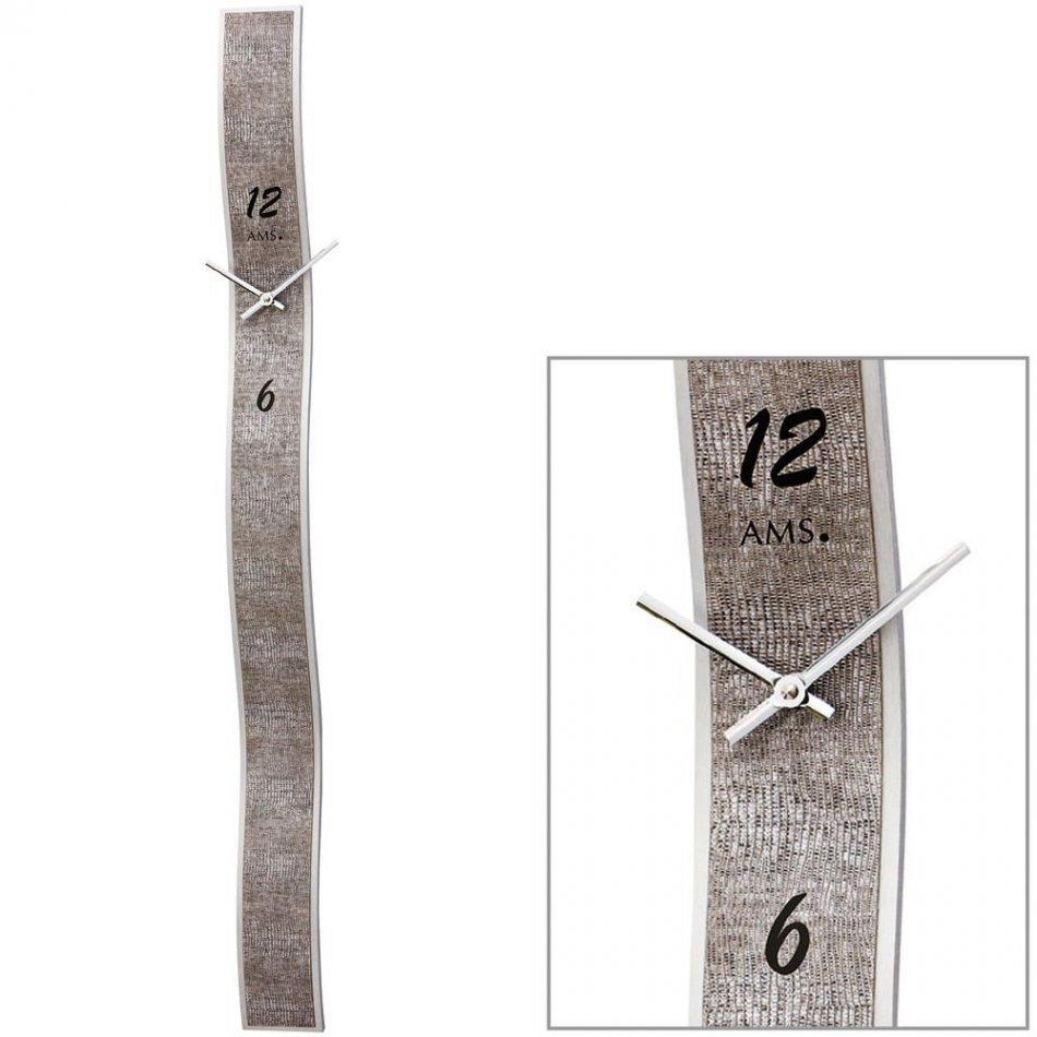 Ceas de perete AMS 9418, 95x8 cm