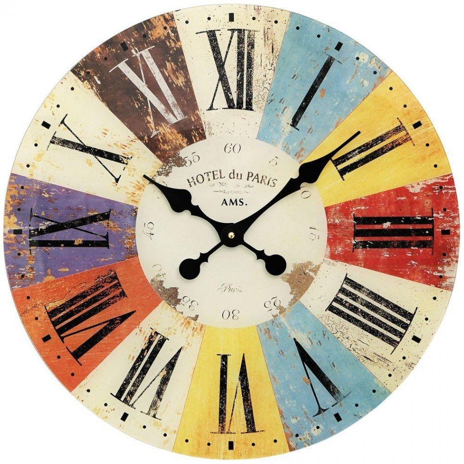 Ceas de perete AMS 9467, 50cm