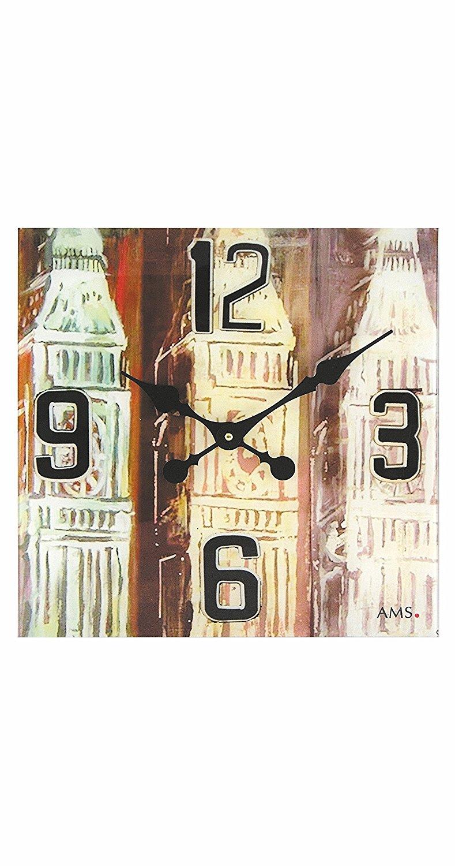 Ceas de perete AMS W9489