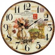 Ceas de perete din sticla AMS 9466