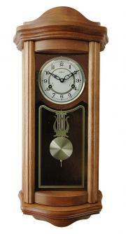 Ceas de perete mecanic Adler 7017-2 Stejar