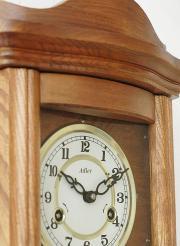 Ceas de perete mecanic Adler 7017-2 Stejar 65x31 cm
