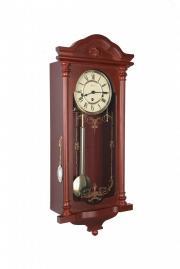 Ceas de perete mecanic Hermle 8 zile cu melodie 70509-070341 Mahon 68x29 cm