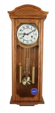 Ceas de perete mecanic Adler 7176-0 Stejar  87x32 cm