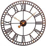 Ceas de perete AMS diametru 60 cm, metal 9537