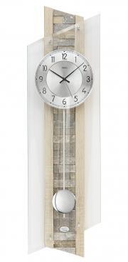Ceas de perete cu pendula AMS Radio control F5224