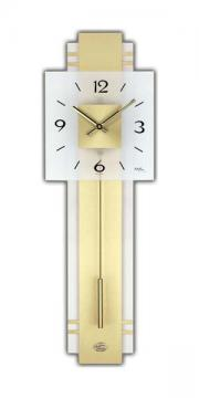Ceas de perete cu pendula AMS - Radio control W7301