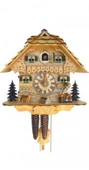 Ceas cu cuc mecanic 1 zi Schneider cu lemnar miscator SC 75/0