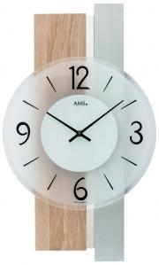 Ceas de perete AMS 9554, 40x23cm