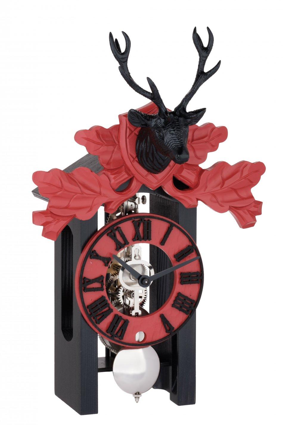 Ceas de perete cu pendul Hermle skeleton 23029-030721