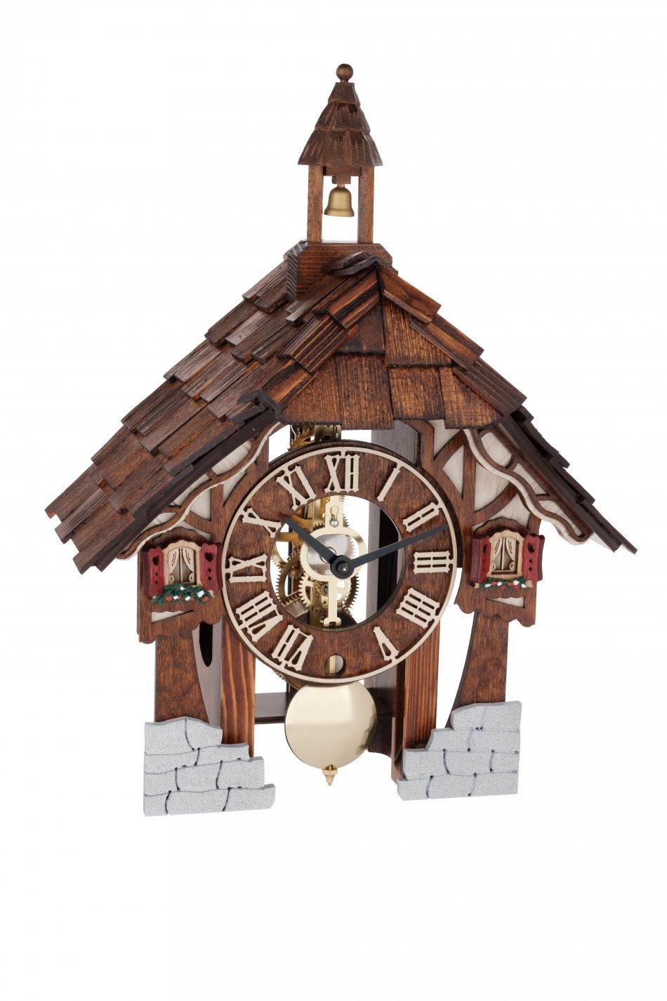 Ceas de perete cu pendul Hermle skeleton 23029-030711