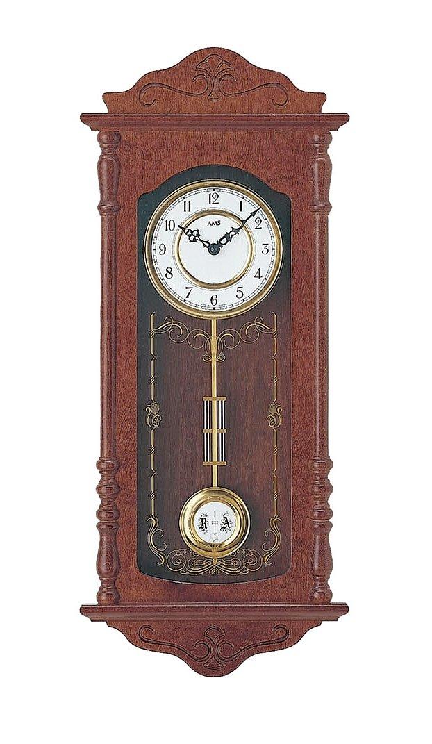 Ceas de perete cu pendul AMS 7013-1