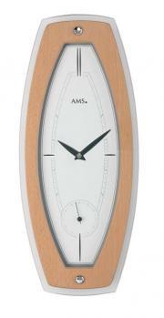 Ceas de perete AMS 9357, 44x19cm