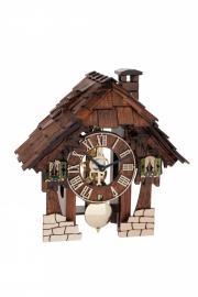 Ceas de perete cu pendul Hermle skeleton 23030-030711 Lemn 25x24 cm