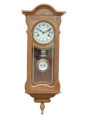 Ceas de perete mecanic Adler 31 zile 7036-2 Stejar 75x29 cm