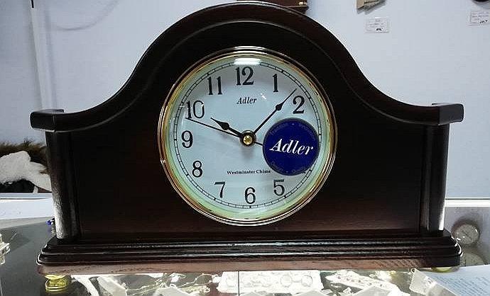 Ceas de birou Adler cu melodie Westminster 7129-1
