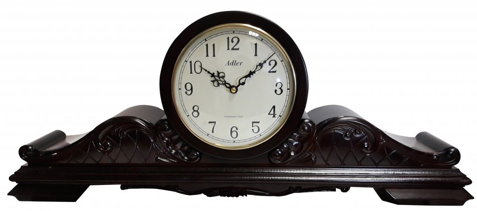 Ceas de birou Adler cu melodie Westminster 7144-1 Nuc