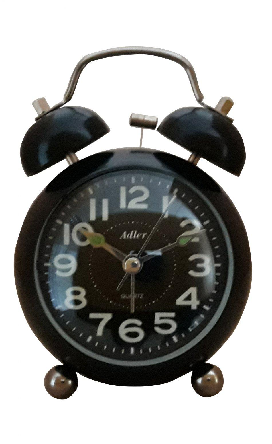 Ceas alarma quarz Adler 3144-1 Negru