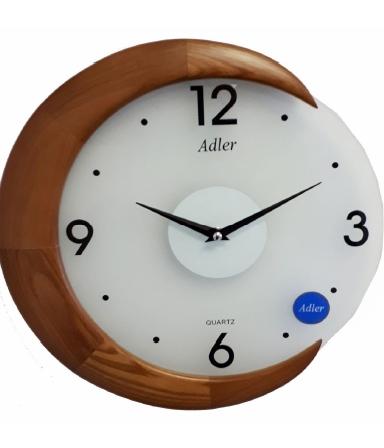 Ceas de perete Adler 5172-2 Stejar