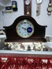 Ceas de birou Adler cu melodie Westminster 7129-0 Stejar 20x35 cm