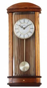 Pendula de perete Adler 7239-2 Stejar 65x28 cm