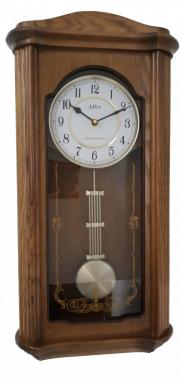 Pendula de perete Adler 7240-2 Stejar 63x31 cm