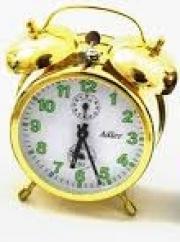 Ceas alarma Adler mecanic 3502-2 Auriu 13x10 cm