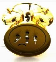 Ceas alarma Adler 3502-2 Auriu