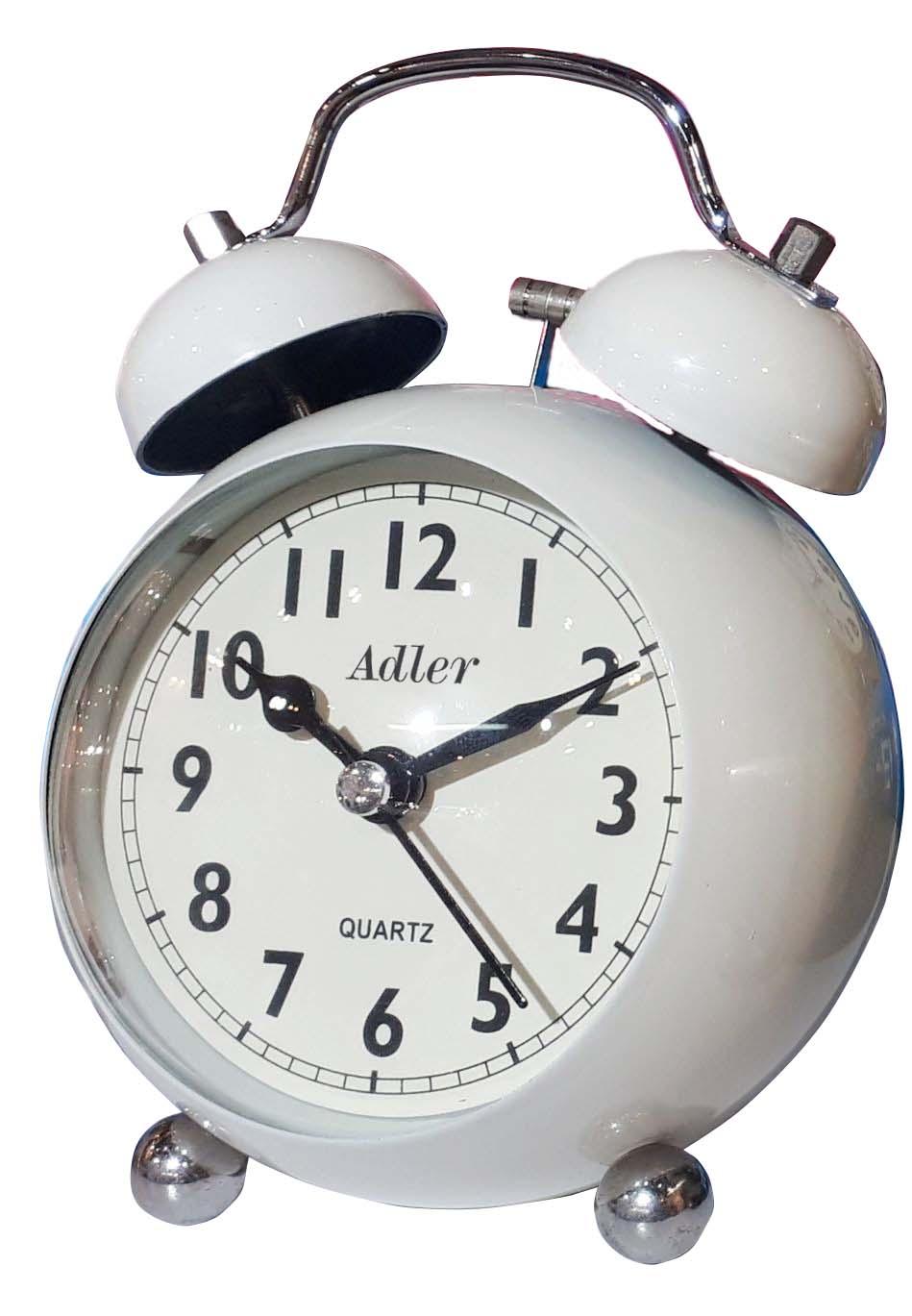 7144 alb ceas desteptator
