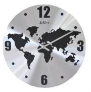 Ceas de perete din aluminiu Adler 7137 metal, 30 cm