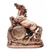 Ceas decorativ calut din poliston - Adler 8170G 34.5x30 cm