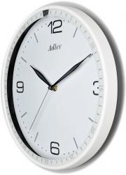 Ceas de perete rotund Adler  alb2