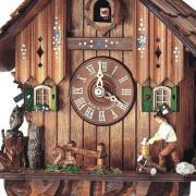 Ceas cu cuc mecanic 8 zile Schneider cu lemnar miscator SC 8T 1105/10