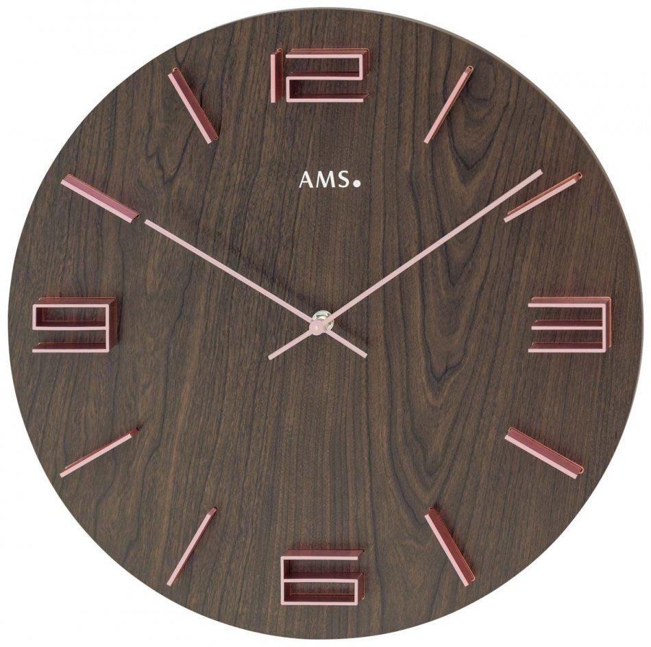 Ceas de perete AMS 9591, 40cm