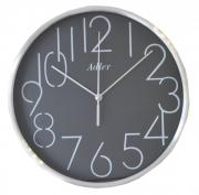 Ceas de perete rotund Adler 9139 carcasa din aluminiu D25 cm