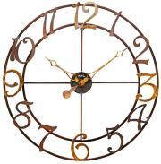 Ceas de perete din metal AMS diametru 60 cm, w9566