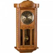 Ceas de perete mecanic Adler 7102-2 Stejar 77x35 cm