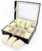 Cutie pentru 10 ceasuri sau bratari - piele eco
