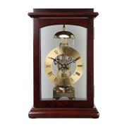 Ceas de birou mecanic Merion 6681-1 lemn masiv, nuc
