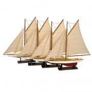 Mini Pond Yachts, Set 4 AS057A