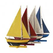 Sunset Sailers, Set Of 4 AS170