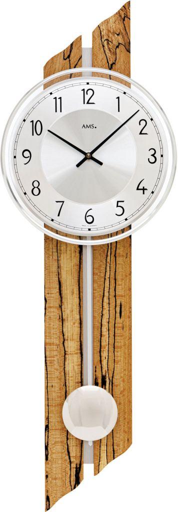 Ceas de perete cu pendul AMS 7468