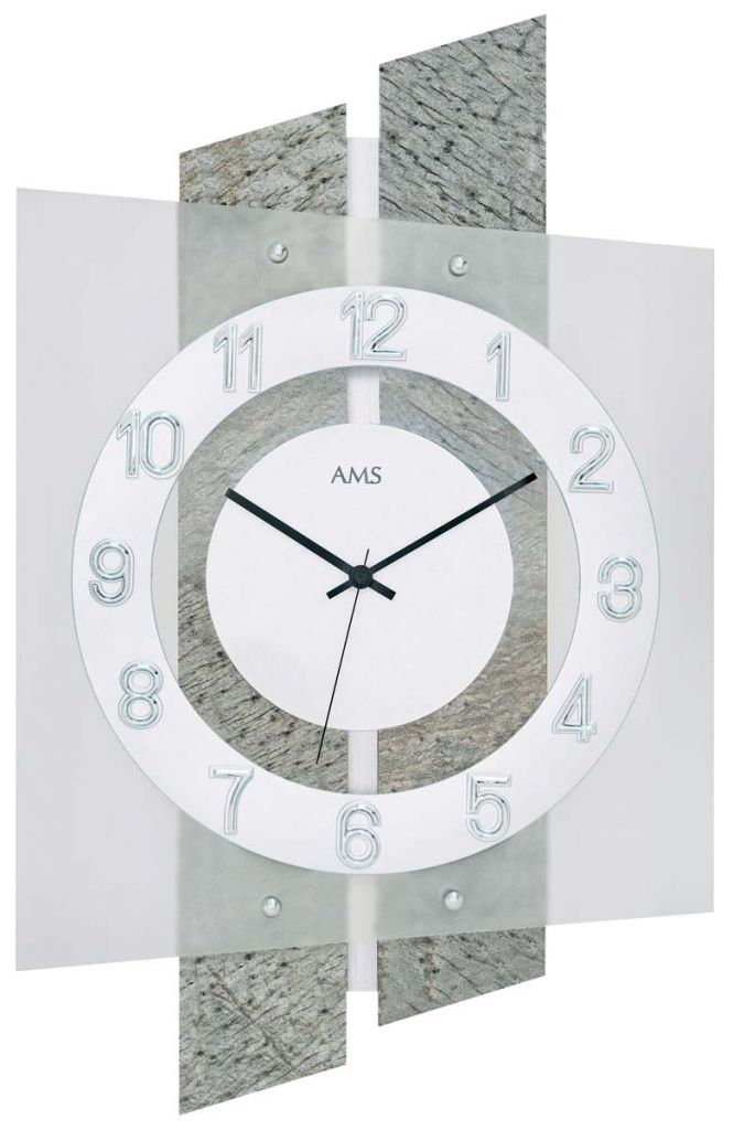 Ceas de perete AMS 5536, 46x29 cm