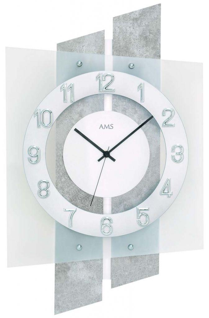 Ceas de perete AMS 5532, 46x29 cm