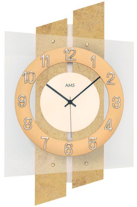 Ceas de perete AMS 5533, 46x29 cm