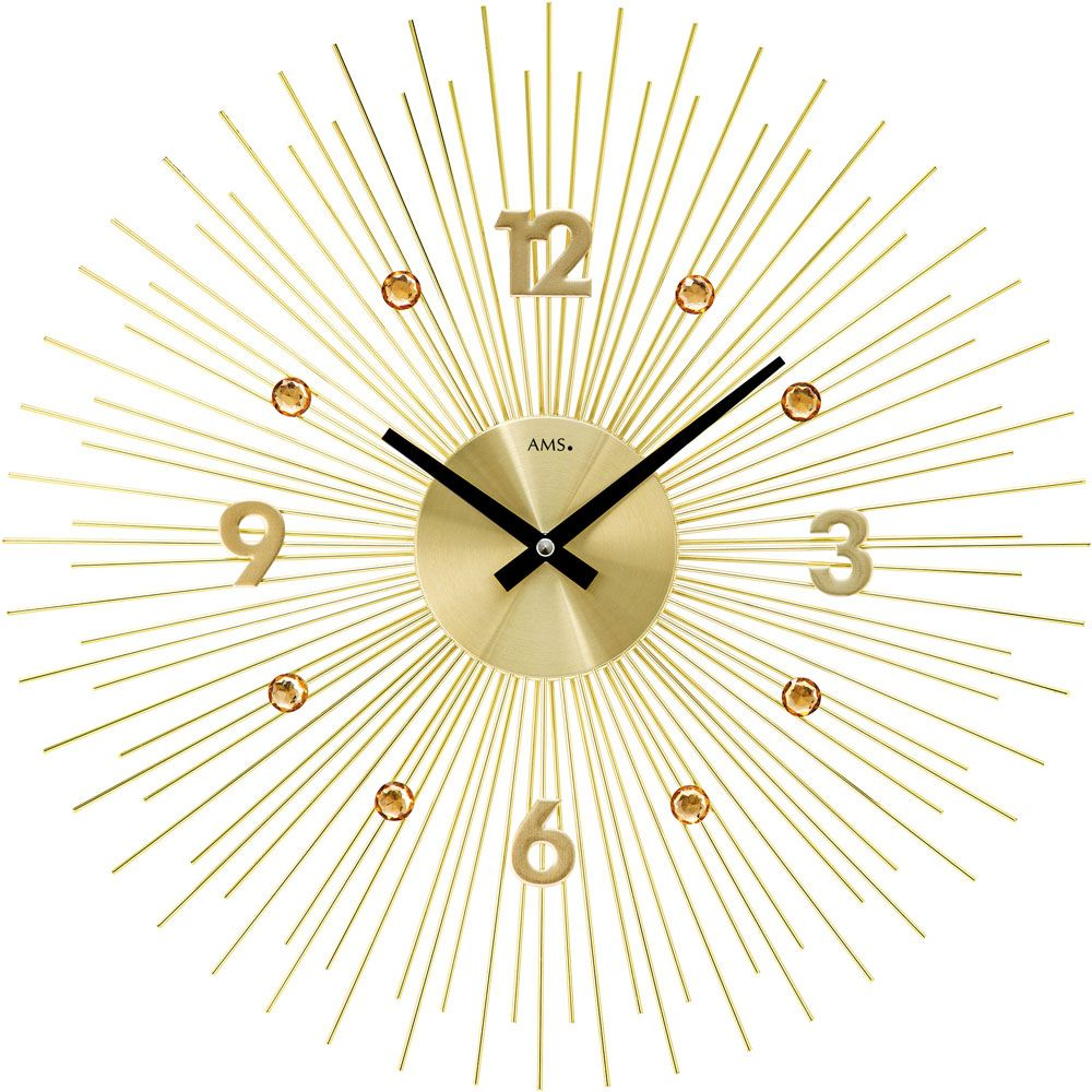 Ceas de perete AMS 9611 diametru 50cm