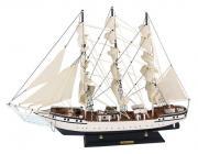 Nava Danmark din lemn cu vele de stofa 79x58cm 5132