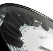 Ceas de perete silentios Adler 7151 Alb, diametru 30 cm