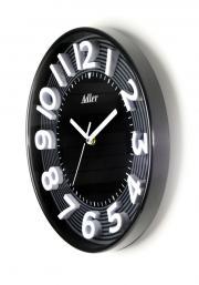 Ceas de perete Adler 7151 Negru, diametru 30 cm